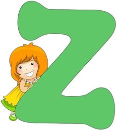 Illustration of a Little Girl Leaning Against a Letter Z Cute Letters, Letters And Numbers, Abc For Kids, The Beach Boys, Kids Sports, Clipart, Classroom Decor, Embroidery Patterns, Framed Art