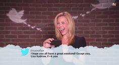 Lisa kudrow mean tweets