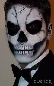 Image result for day of the dead makeup men