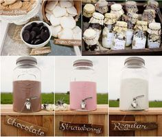 Milk and cookies party - Cute gift ideas, cookies in a jar