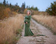 59b6bad91eba8 Items similar to Tansy Dress / Maternity Gown / Maternity Gown Photography  on Etsy