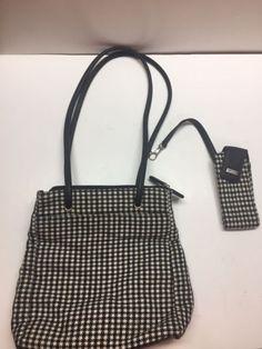 Croft   Barrows Checkered Ladies Purse Handbag tote shoulder bag crossfit    eBay 5a91ffa9bb7a
