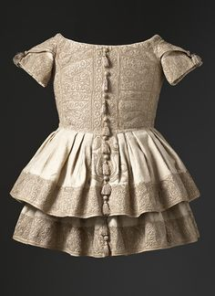 Boy's Frock, circa 1855, via The Los Angeles County Museum of Art.