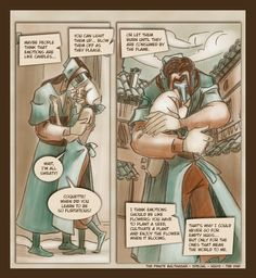The Pirate Balthasar - BLOG: Hugs - The End