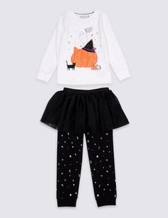 Buy the Pumpkin Tutu Pyjamas Years) from Marks and Spencer's range. Toddler Halloween Outfits, Halloween Fashion, Halloween 2020, Halloween Clothes, Halloween Ideas, Pyjamas, Pumpkin Tutu, Moon Print, Baby Steps