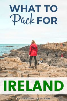 Printable Ireland Packing List of the Essentials You Need to Pack [PDF] Ireland packing list with outfit ideas for what to wear in Ireland - printable packing list for travel as you explore the Emerald Isle Packing Tips For Vacation, Europe Travel Tips, European Travel, Packing Hacks, Europe Packing, Packing Lists, Travel Packing, Travel Advice, Solo Travel