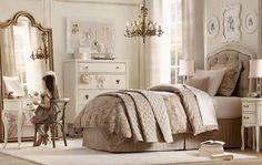 beautiful girl's room... white - beige