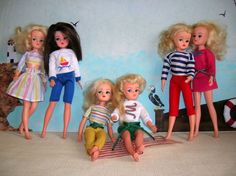 Pedigree Sindy Casual Collection 1985 Sindy Doll, Barbie, Dolls, Doll Clothes, Shampoo, Games, Friends, Casual, Outfits