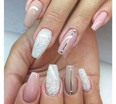Pink & Glitter with diamond detail