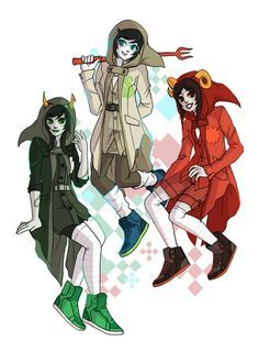 all the maids [Jane: maid of life - Aradia: miad of time - Porrim: maid of space]