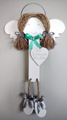 Diy And Crafts, Unicorn, Christmas Ornaments, Holiday Decor, Home Decor, Log Projects, Wood, Xmas, Angels