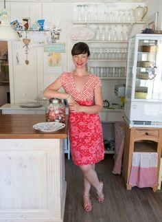 """Cafe-Besitzerin Nina Stiller  (Himmelhoch) aus den """"Sugar Girls"""" von Jana Henschel und Meike Werkmeister © Ulrike Schacht"""