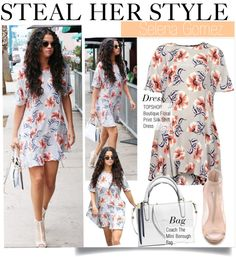 """""""Steal Her Style-Selena Gomez in Topshop"""" by kusja on Polyvore"""