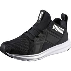 Puma Women s Enzo Metallic Running Shoes Black Running Shoes d07c486f4
