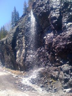 Spring melt (for Colorado that is June) Engineer Pass