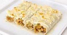 Esta receta de canelones veganos es ideal para las ocasiones especiales. Su relleno de soja texturizada y champiñones tiene un sabor intenso y aromático.