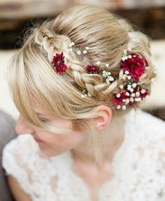 braided wedding hairstyles, bridal hairstyles with plaits - braided wedding hairstyle