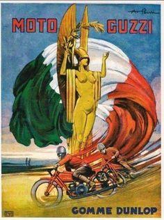 moto guzzi poster   VROOOOM! ART   Pinterest   Moto guzzi