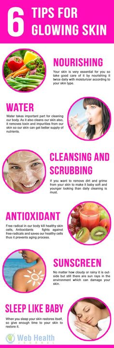 Taking care of your skin is very important! Some tips to help with the process