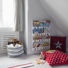 Find the perfect spot for little ones to cosy up with a good book with these ideas for reading corners from Ideal Home. Find more decorating ideas for children's spaces at housetohome.co.uk