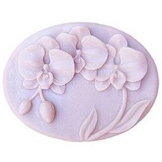 Lingmoldshop Orchid Flower Craft Art Silicone Soap mold DIY Candy mould Craft Molds Handmade Candle molds *** More info could be found at the image url.