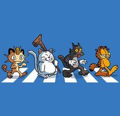 Garfield Cartoon, Retro Cartoons, Abbey Road, Bart Simpson, Illustrator, Pokemon, Anime, Cinema, Snoopy