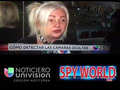 Visita de Noticiero Univision a Spy World Miami, Diana montano, entrevistando a Steve Gonzalez, Director General de Spyworldmiami #univision #miami #miamibeach #spystore #spygps #spy #dianamontaro #noticias #noticierounivision #coralgables #noticias #español