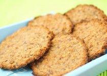 Suikervrije havermout koekjes met banaan