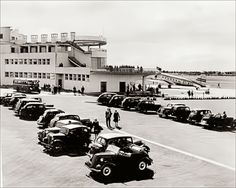 Car parking at Dublin Airport in the early in the days before strict airpo. Car parking at D Dublin Airport, Dublin City, Cork Ireland, Dublin Ireland, Old Pictures, Old Photos, Vintage Photos, Travel Deals, Travel Destinations