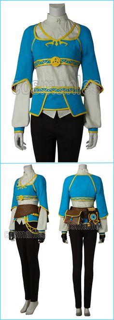 The Legend Of Zelda: Breath Of The Wild Princess Zelda Cosplay Costume