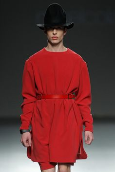 MIKELCOLÁSunveiled itsFall/Winter 2016 collectionatEGOduringMercedes-Benz Fashion Week Madrid.