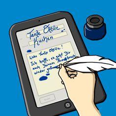 Einen Brief schreiben? So richtig auf Papier? Das tut heute fast keiner mehr. Kommuniziert wird heute über E-Mails, Chat- und Facebook-Postings. Komisch nur, dass auch das nicht mehr funktioniert. Abhilfe schaffen könnte eine neuartige E-Mail-Software.