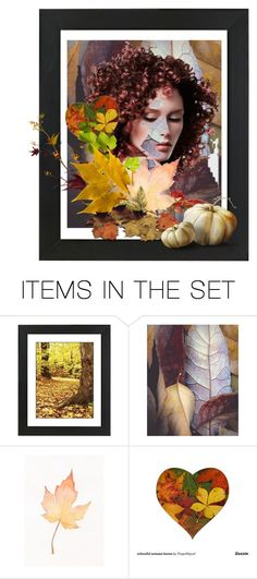 """""""Hiding among the leaves"""" by glitterlady4 ❤ liked on Polyvore featuring art"""