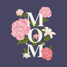 Happy Mother's Day Poster by Mothers Day Text, Mothers Day Poster, Happy Mothers Day, Ink Illustrations, Illustration Art, Happy Mother's Day Calligraphy, Happy Mother's Day Greetings, Flower Alphabet, Mother's Day Greeting Cards
