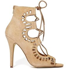 Steve Madden x The Blonde Salad Trome Heel - Nude don't know whether to go for nude or black??