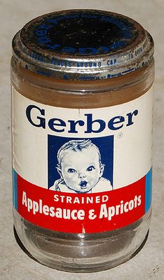 Gerber - the baby food company who fed generations. And supplied home workshops with containers for nails, screws, etc.