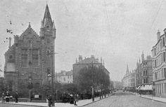Dixon Halls, Cathcart Road, Glasgow 1910, via Flickr.