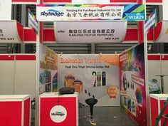Hope to meet you in here. Now We are in Booth No: W2 A29 . Venue: Shanghai New International Expo Center Exhibitor: Fei Yue Paper Industrial Co.,ltd More: www.feiyuepaper.com & www.heatsub.com Add: No.2304, Longyang Road, Pudong New District, Shanghai +8618795970428