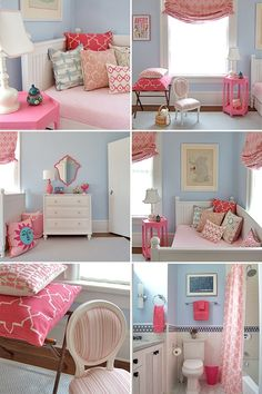 Would think of green instead of blue, but like the not so girlie girls room