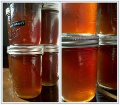 Pear Honey. Some of the tastiest stuff I've ever canned.
