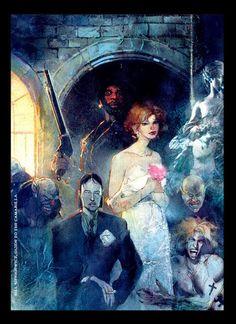Bill Sienkiewicz - Vampire: The Masquerade