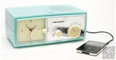 5. #Crosley Alarm Clock #Radio Speaker - avail at urban outfitters