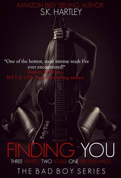 """NEW COVER for """"Finding You"""" by S.K. Hartley"""