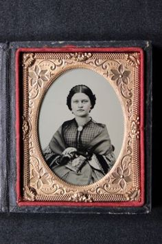 Antique Cased 1/9 Ninth Plate Ruby Ambrotype Photo of Lady with Shawl, Album in Collectibles, Photographic Images, Vintage & Antique (Pre-1940), Ambrotypes | eBay