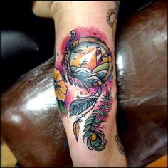 Tatouage Attrape R Ve Water Color Tattoo Pinterest Photos Eau Et Aquarelles