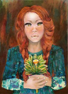 Abstract Portrait Painting, Black Art, African Art Art Prints, Canvas Art, Wall Art by ArtBySalkis on Etsy