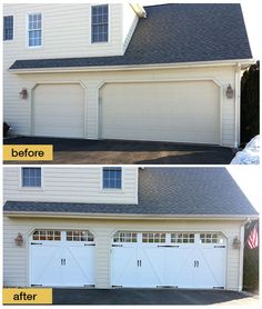 1000 images about before and after exterior makeovers on pinterest garage doors steel garage - Top notch image of home exterior decoration with clopay garage door ideas ...
