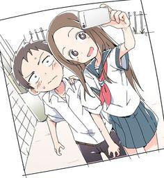Takagi x Nishikata Otaku, Anime Art, Manga Anime, Good Anime Series, Cute Romance, Comedy Anime, Anime Couples Manga, Manga Comics, Anime Characters