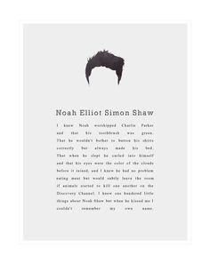 Noah Shaw.