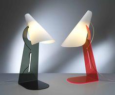 Linea Zero, Lampada da tavolo Collezione: Calle collection Designer: Manuel Barbieri